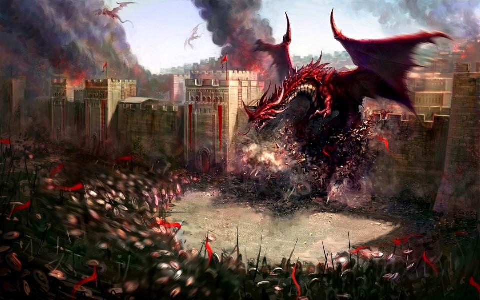 dragons-creatures-digital-art-3d-2560x1600-hd-wallpaper