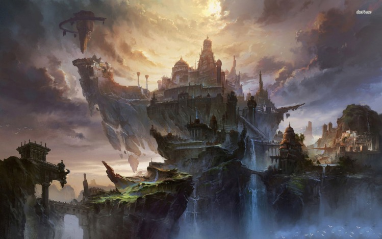 17924-kingdom-on-top-of-the-cliff-1680x1050-fantasy-wallpaper